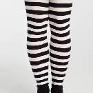 Marimekko 黑白色条纹长袜