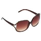 Evita Peroni 棕色树脂墨镜