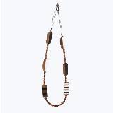 Marimekko 木质珠串项链