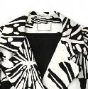 Diane von Furstenberg黑白印花西装